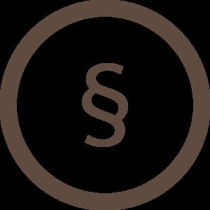 Rechtliche Inhalte - Icon
